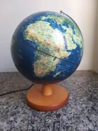 Globo Terrestre 30 cm Com Luminária