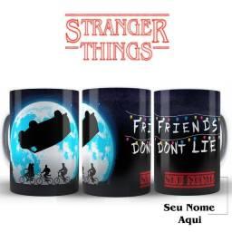 Stranger Things Xicaras De todas Series Filmes Ou Como Imaginar