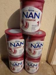 Vendo 5 lata de leite Nan 1