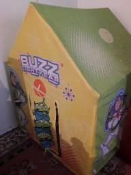 Brinquedinhos mais barraca 50 reais