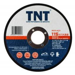 Disco de corte TNT blue 115x1,0x22