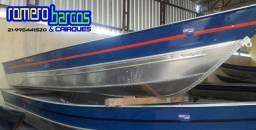 Imperdível Barco 5 e 6mt de comprimento 100% aluminio