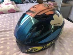 Vendo capacete AGV K3 Face **Original** (nacional com selo)