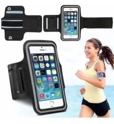 Capa braçadeira para celular