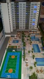 apartamento 01 e 02 quartos parcelado em 90 meses sem burocracia - entrega 2021