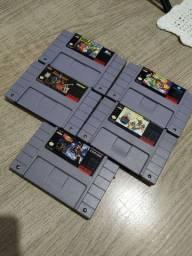 Cartucho / Fita Super Nintendo Snes Originais