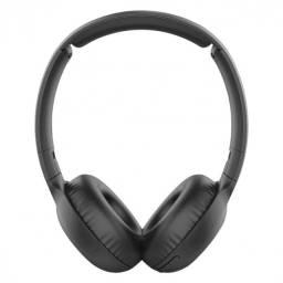 fone de ouvido wireless com microfone tauh202bk preto