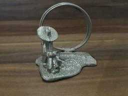 Porta Guardanapo Antigo em Metal