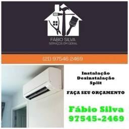 Venha Instalar / Desinstalar Split Ar Condicionado