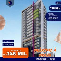 Apartamento para Venda em João Pessoa, Tambaú, 2 dormitórios, 1 suíte, 2 banheiros, 1 vaga
