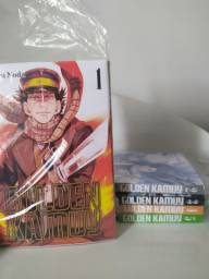 Mangás Atelier of witch hat e Golden Kamuy