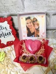 Caixa Amor c/foto Dia das mães