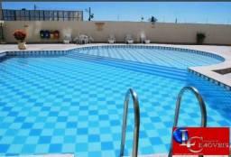 Apartamento 1 quarto, mobiliado, piscinas, sauna, rest/lanchonete, próximo ao Fórum