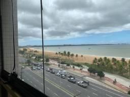 Apartamento na Mata da Praia, 2Q suítes,1 vg, varanda, frente para Mar com lazer completo