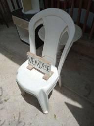 Cadeira de plástico 10 unidade