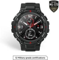 Promoção!! Relógio Inteligente Xiaomi Amazfit T-Rex Sport Militar Casual Robusto GPS
