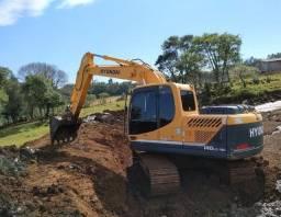 escavadeira hidráulica hyundai lc140 ano 2016