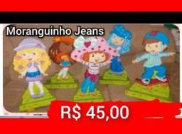 Vendo Decoração Moranguinho Jeans