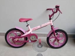 Bicicleta Infantil feminina aro 16 Caloi