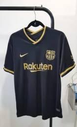 Camisa Barcelona Preta nº2