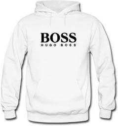 Moleton flanelado Hugo Boss com capuz