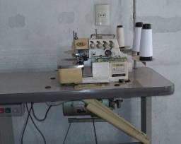 Maquina de costura overlock industrial 5 fios