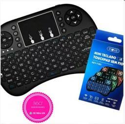 Mini Teclado Touchpad Wireless Recarregável Inova i8 Key7383