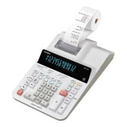 Calculadora Com Bobina Casio DR-210R-WE-U 110v - Branco-12 vezes sem juros