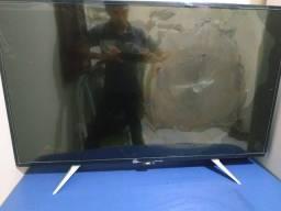 Smart Tv 43pol 4k AOC tela quebrada 350.00