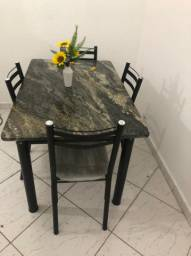 Vendo mesa de mármore  completa