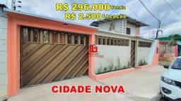 Casa 3 quartos sendo 2 suítes na Canaranas 1, bairro Cidade Nova