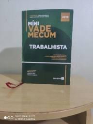 Mini Vade Mecum Trabalhista - Saraiva jur 2019