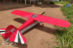 Aeromodelo gasolina taylorcraft 30cc