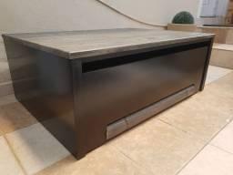 Mesa grande com gaveta