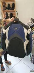 Jaqueta de motoqueiro em couro Ixon