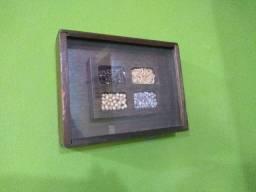 Quadro decorativo parede Cereais oferta 60,00