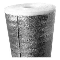Manta térmica para telhados - espuma de polietileno + face refletora aluminizada.