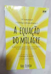 """Livro: A Equação do Milagre"""" novo, lacrado."""