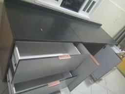 Armario cozinha balcao com gavetas