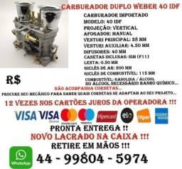 Carburador Duplo Weber 40 Idf Pronta Entrega !!