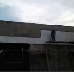 Prestador de serviço na construção civil Pinturas assentamento de revestimento