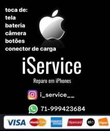 Assistência técnica iPhone (delivery)