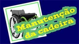 Manutenção de cadeira de rodas e camas hospitalares.