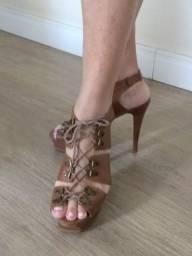 Sandália couro legítimo