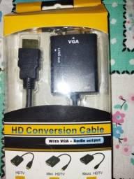 ADAPTADOR VGA - HDMI R$ 40,00
