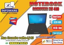 Notebook Samsung Dual Core /HD500GB/04GB Memoria/Garantia