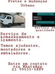 Fretes e mudanças com qualidade e preço bom, para todo Brasil