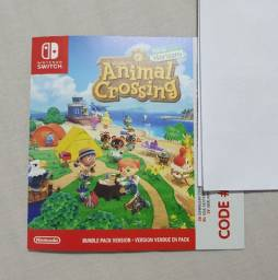 Switch Código Download - Animal Crossing New Horizons