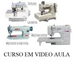 Curso de Máquinas de Costura Manutenção em Video Aula