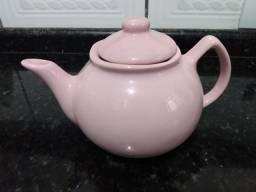 Bule de chá rosa 700 ml